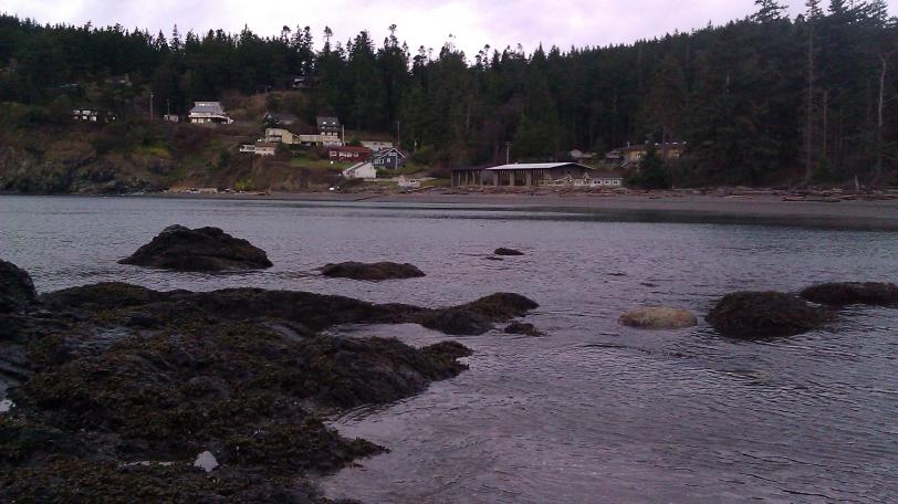 Tidepools near Rosario Beach