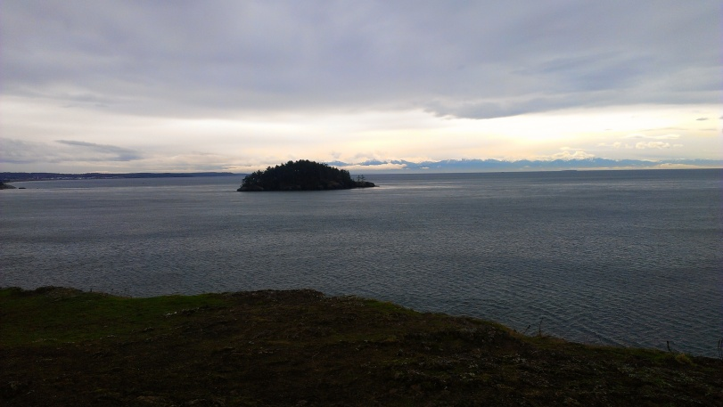 View of the Sound - great even on a wintery day