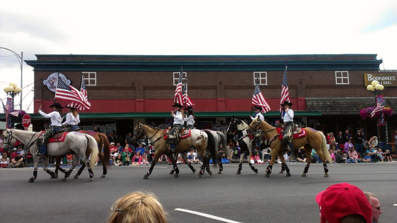 The 4th of July Parade in Sedro-Woolley