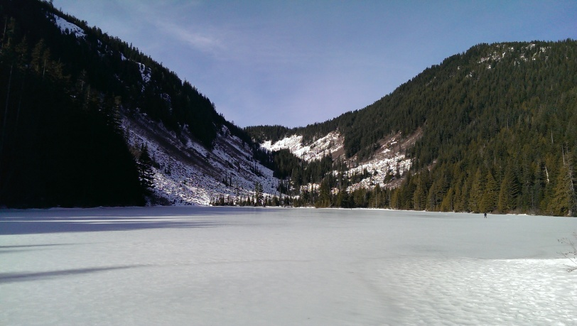 Icy Idyll of Talapus Lake