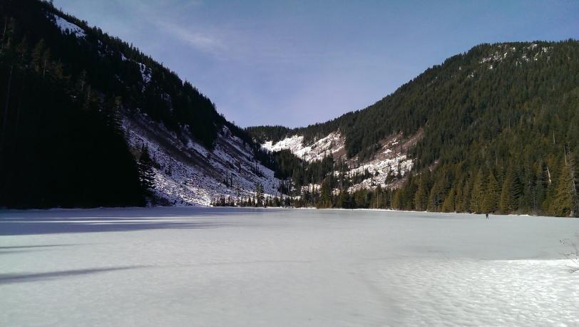 Icy Idyll of Talapus Lake