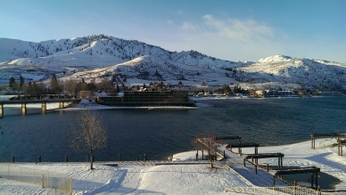 48 Hours in Lake Chelan in Winter