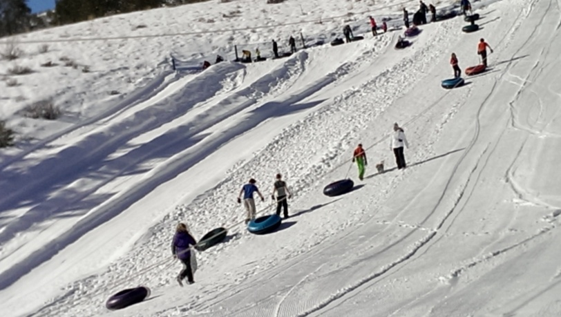 Tubing at Echo Valley