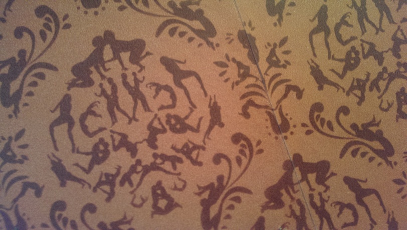Racy Wallpaper at Hard Row to Hoe