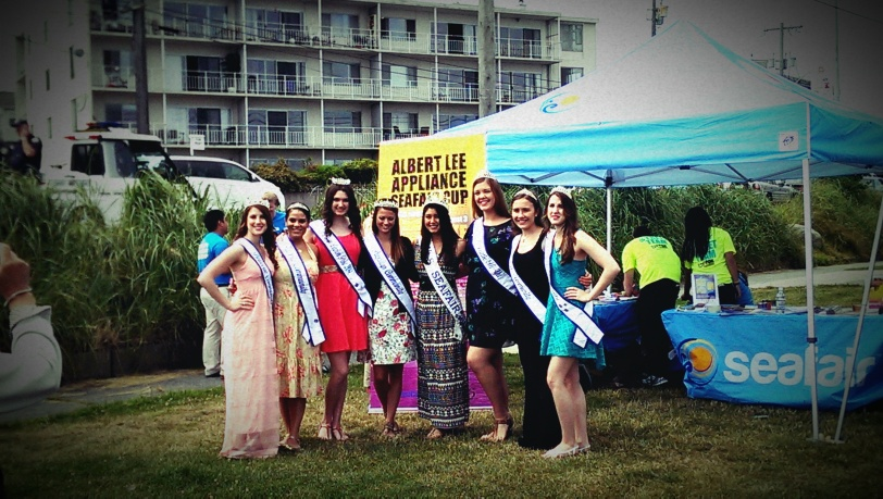 The Seafair Princess Court