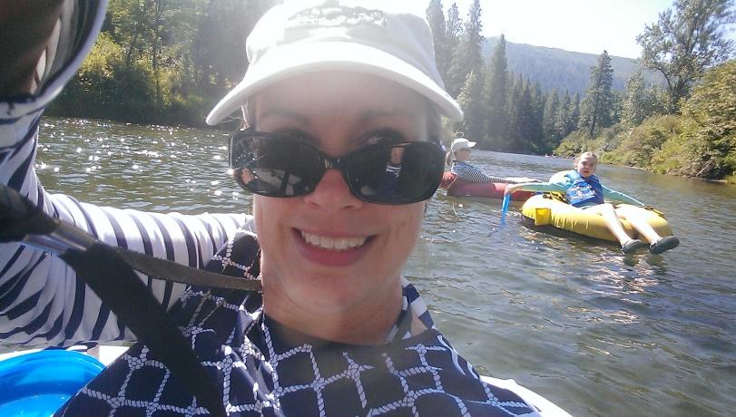 River selfie.