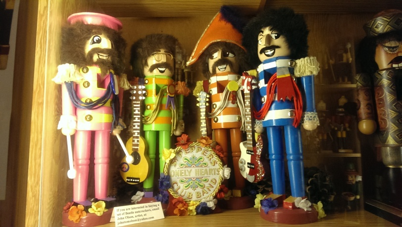 The Sgt. Peppers Nutcrackers