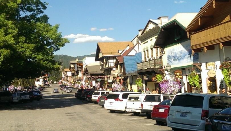 Charming Downtown Leavenworth, WA