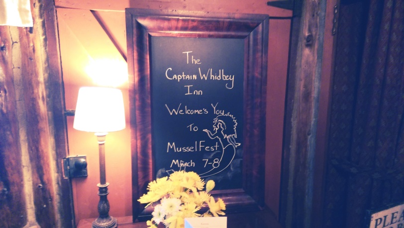 Capt Whidbey Inn welcomes you to Musselfest