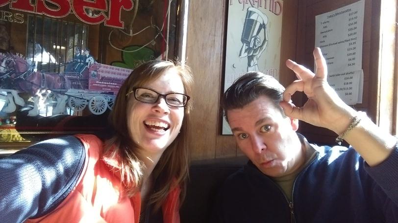 Chad and Susan at Tobys