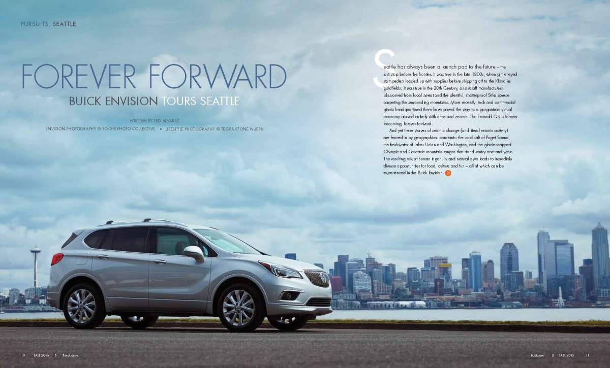 Mr. and Mrs. Smith featured in Buick B Magazine